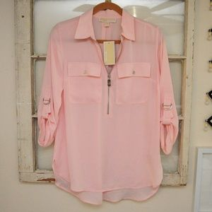 Light Pink/Blush Michael Kors blouse